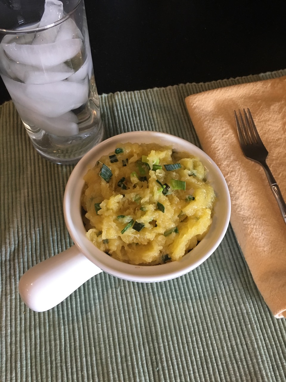 Asian Inspired Spaghetti Squash